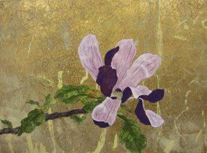 Mei.Wが大学時代に日本画で描いた作品。